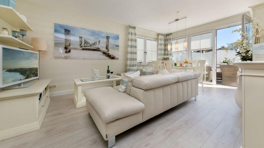 Wohnzimmer mit Eckcouch
