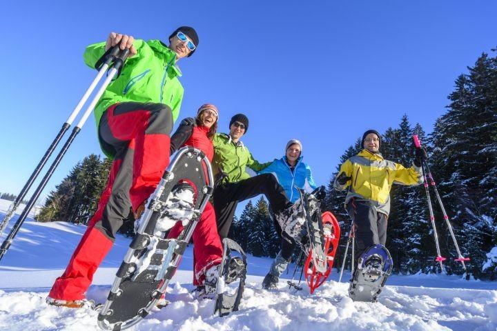 Schneeschuh-Wandern, geführte Touren in Hahnenklee.