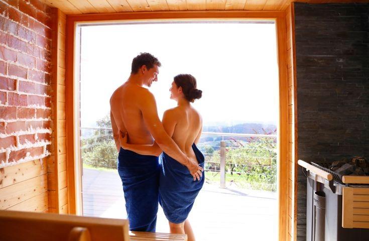 Sauna im Bayerischen Wald