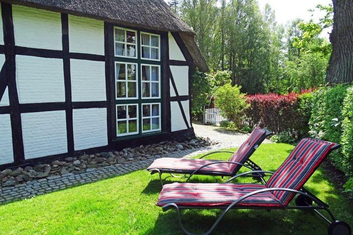 Ein eigener kleiner, gepflegter Gartenbereich nur für Sie!