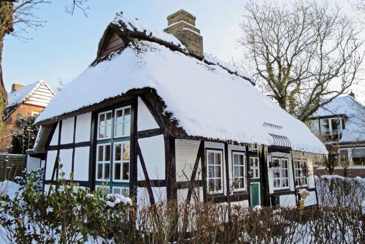Auch im Winter unter Schnee eine Traum!