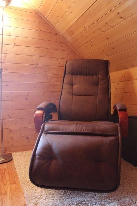 Relaxliege mit Massagefunktion