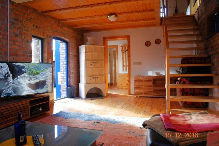 2. Blick von der Sitzlandschaft in den Wohnraum