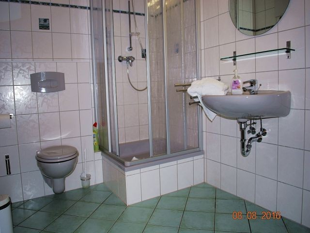 Blick in das Bad