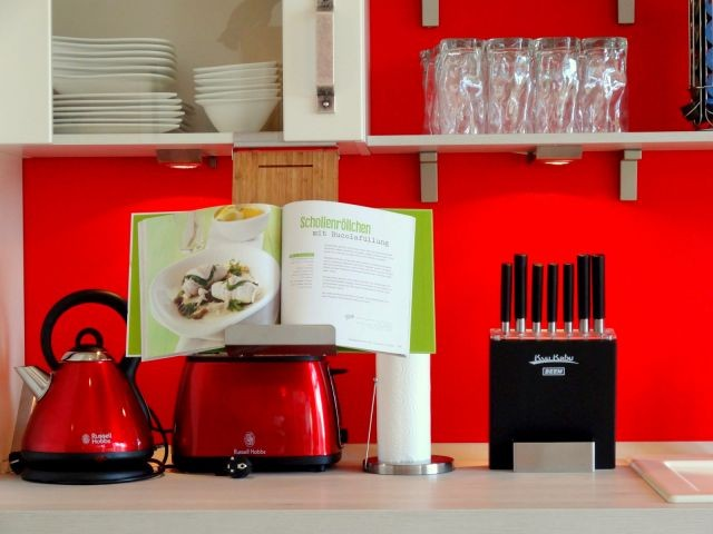 Hochwertige Ausstattung in der Küche