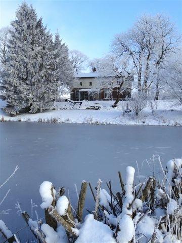 Auch in den Wintermonaten ist das Haus das perfekte Urlaubsziel