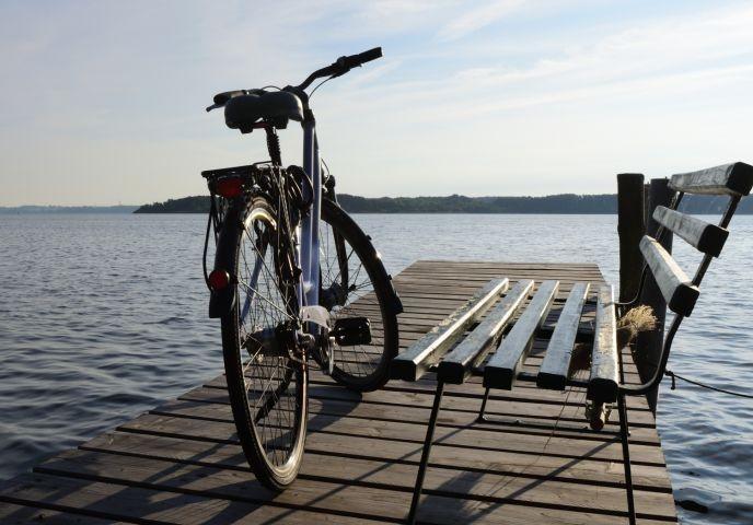 Rast am Schweriner See