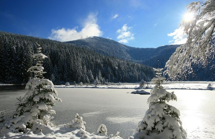 Arbersee im Winter
