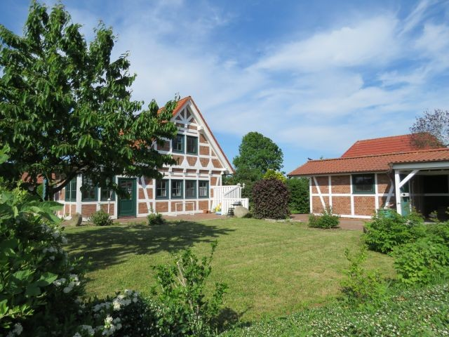 Ferienhaus Elbstar - Südseite