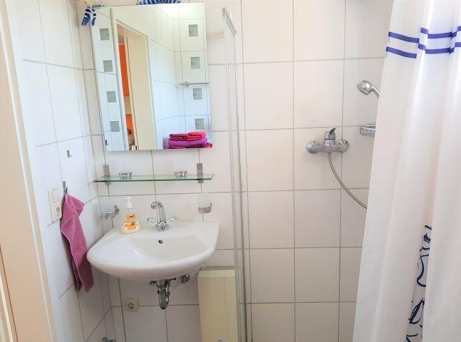 Dusche (begehbar)/WC