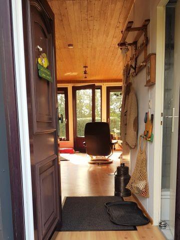 von der Haustür auf die Terrassentür