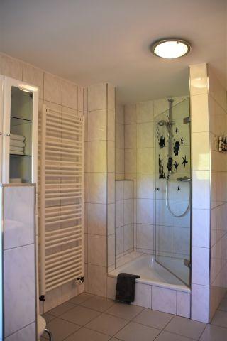 Dusche im 2. Bad