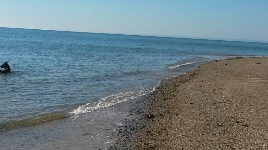 das Meer in Kürze erreichbar