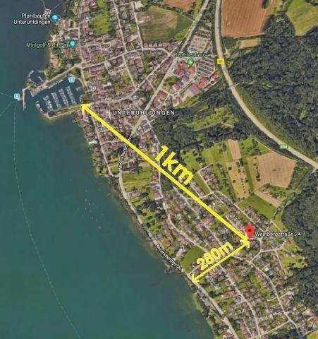300 Meter zum Bodensee - 1km zur Promenade