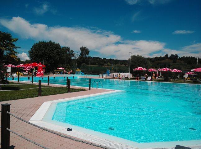"""Der Wasserpark """"Cavallara"""" in unmittelbarer Nähe"""