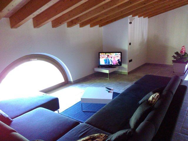 Der 2.e Wohnraum mit SAT TV