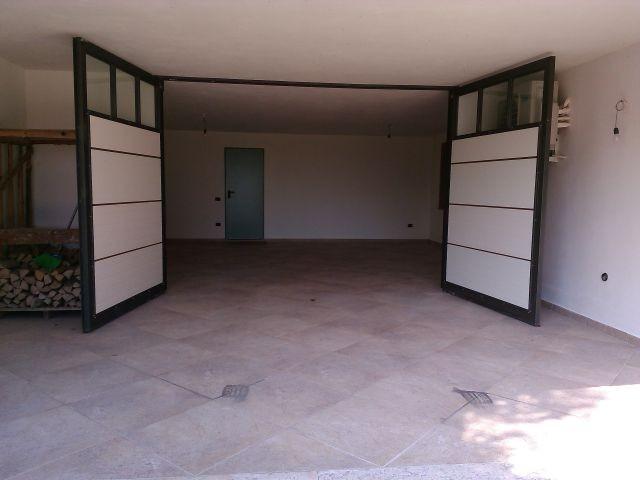 Der Garagenbereich