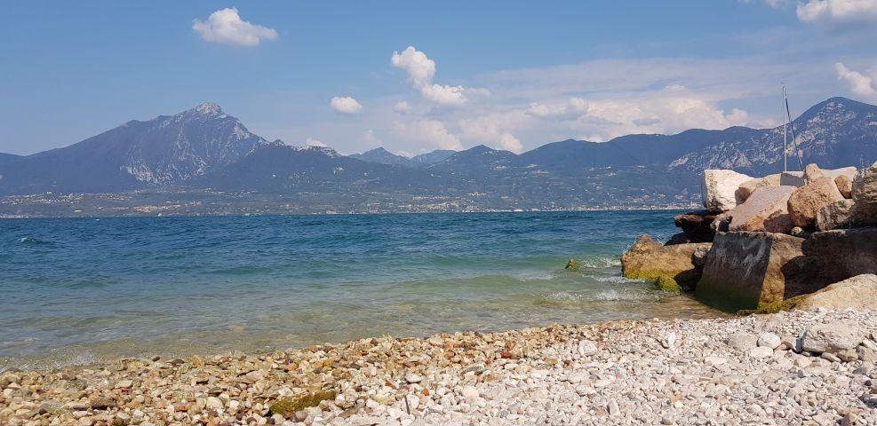 Der nächste Strand am Gardasee