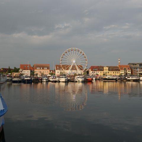 Müritzsail am Warener Hafen