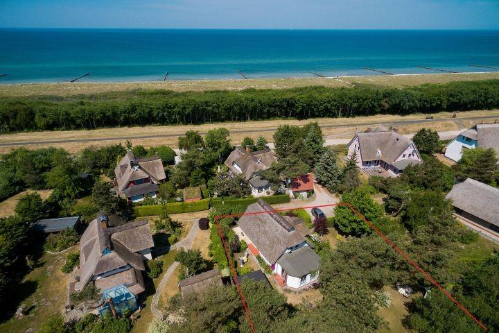 Luftbild zum Strand