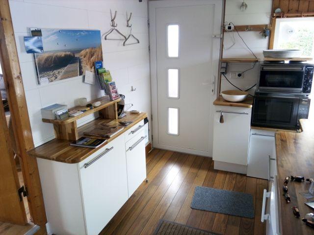 Eingang und Dielenküche