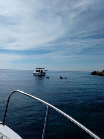 Bootsfahrt mit Tauchkurs