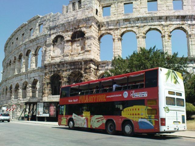 Besichtigung mit den Bus