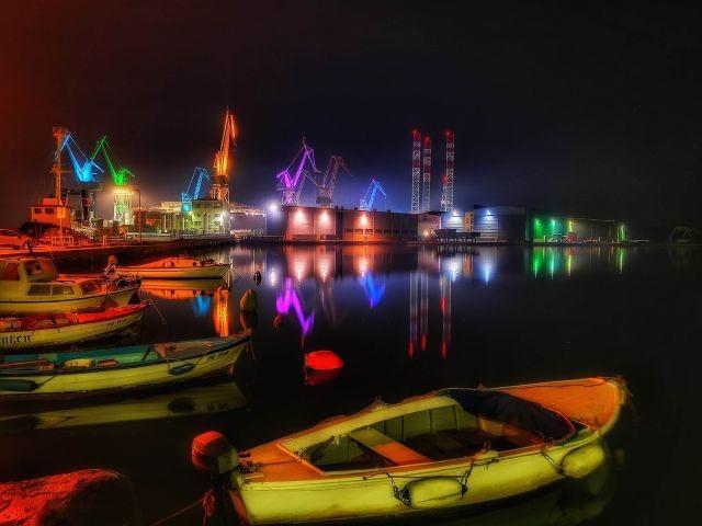 Romantische Hafen