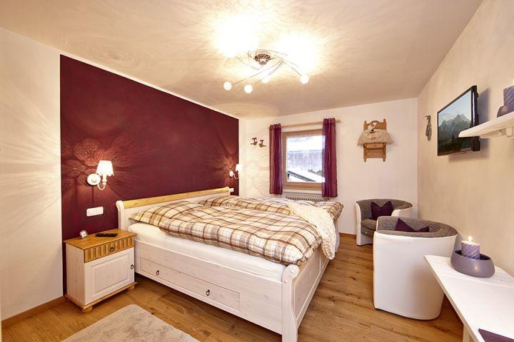 Schlafzimmer der Fewo Farchanter Traum*****