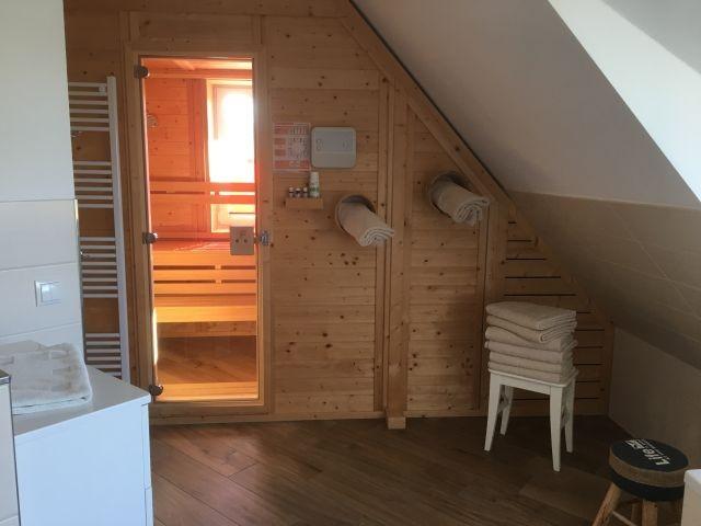 finnische Sauna im EG mit Tageslicht