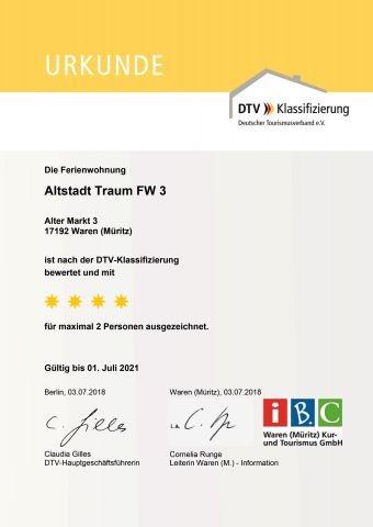 Klassifizierung des DTV
