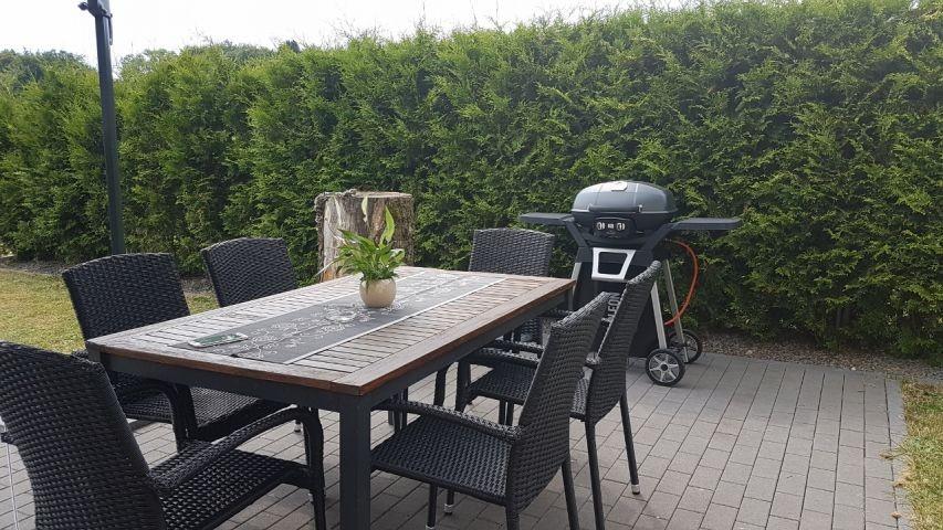 Terrasse mit Gasgrill