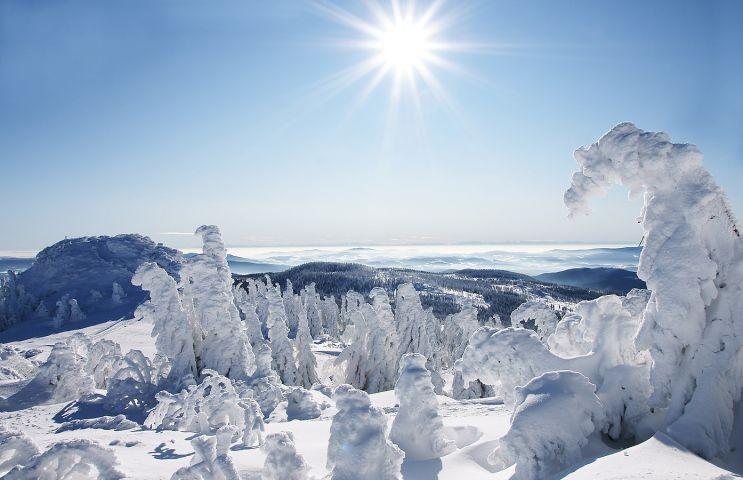 Winteridylle am Großen Arber