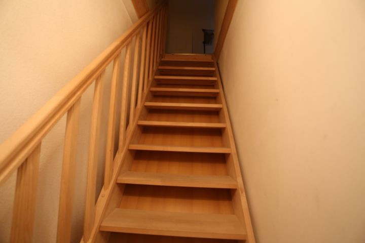 Treppenaufgang zum 2. Schlafzimmer