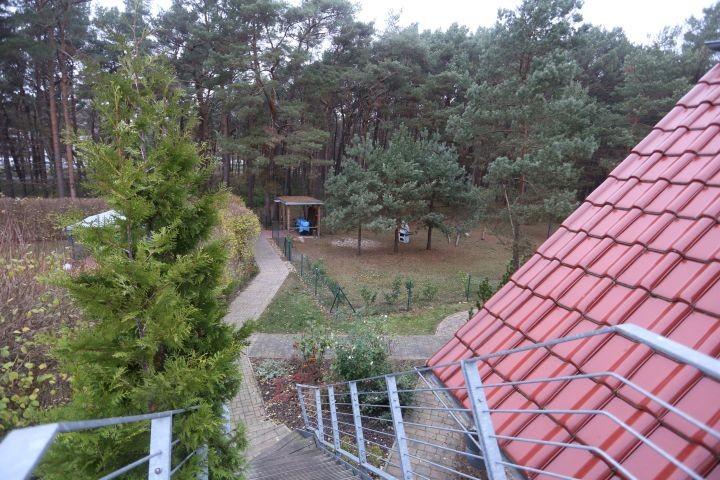 der Blick zum Garten