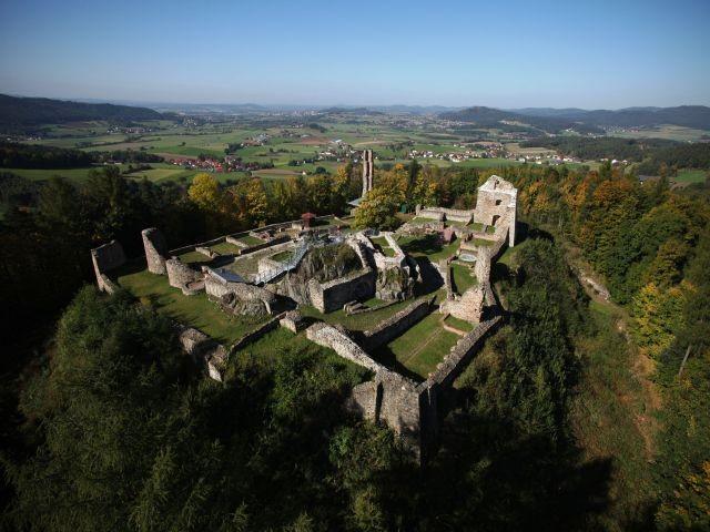Burgen des Bayerischen Waldes