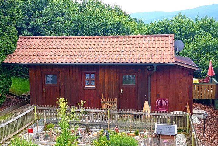 """Ferienhütte Sonnenschein """"Kleines Idyll"""""""