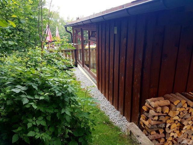Ferienhütte Sonnenschein mit Wintergarten