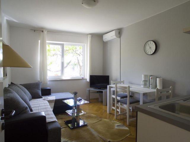 Offene Wohn/Esszimmer mit Küchenzelle
