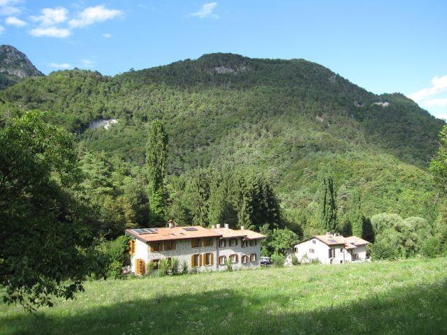 Das Haus mitten in der Natur
