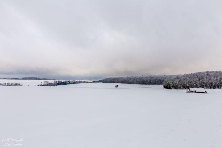 Winter auf der Hochebene
