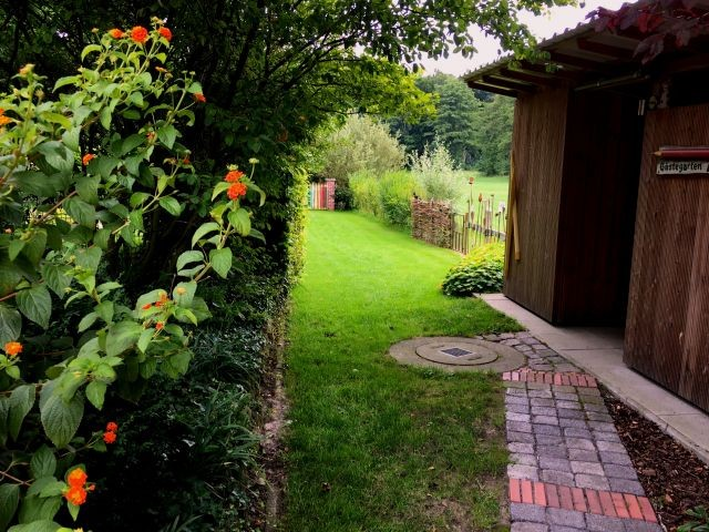 Zugang zum Gästegarten