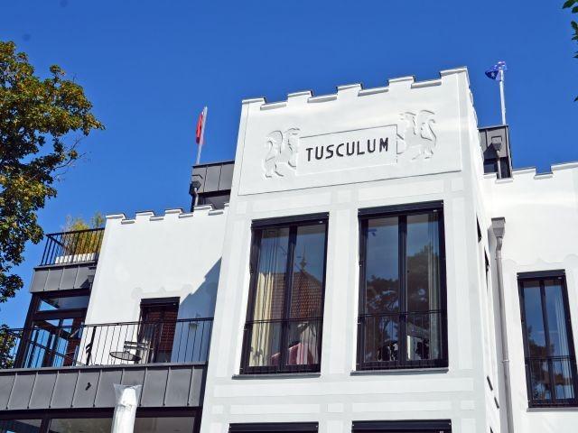 Hausansicht Villa Tusculum im Ostseebad Binz
