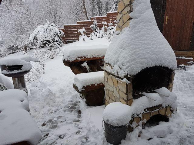Dezember 2018 der erste Schnee...Januar/Februar noch freie Termine !