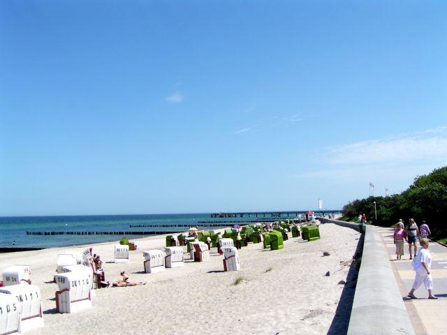 Schöner Strand und die kilometerlange Strandpromenade