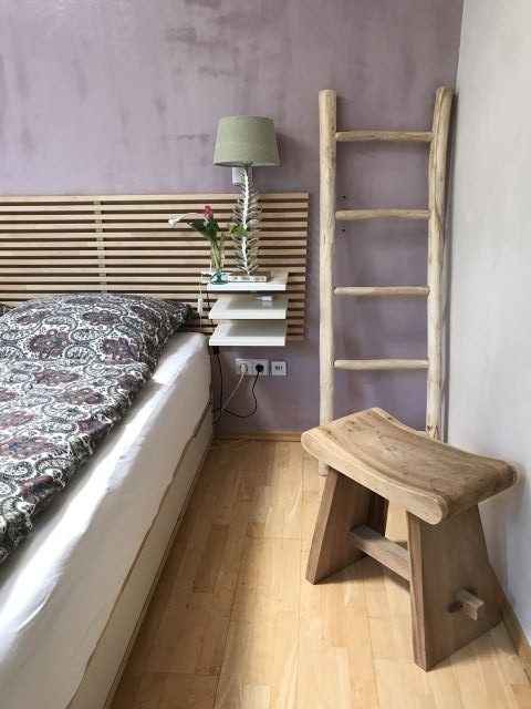 Schlafzimmer floral