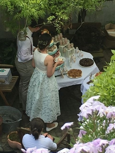 Hochzeit im Hof