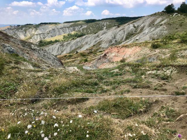 Erosionslandschaft am Simone