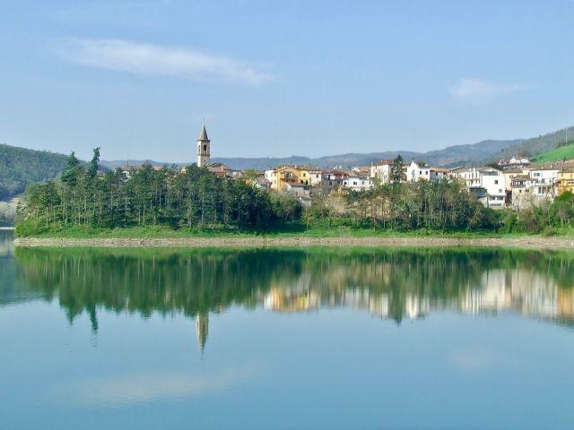 See mit Blick auf Mercatale