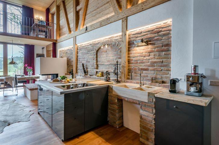 Küche mit jeglichem Komfort